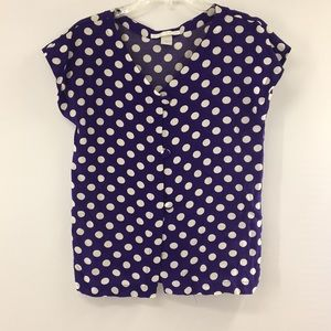 The limited polka Dot blouse size 6